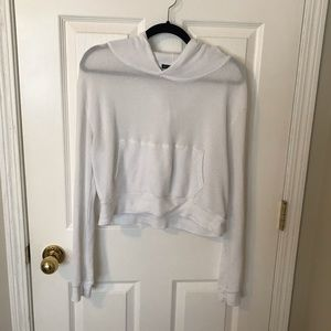 Brandy Melville cropped hoodie O/S